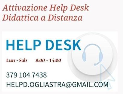 HELP DESK per la DIDATTICA A DISTANZA